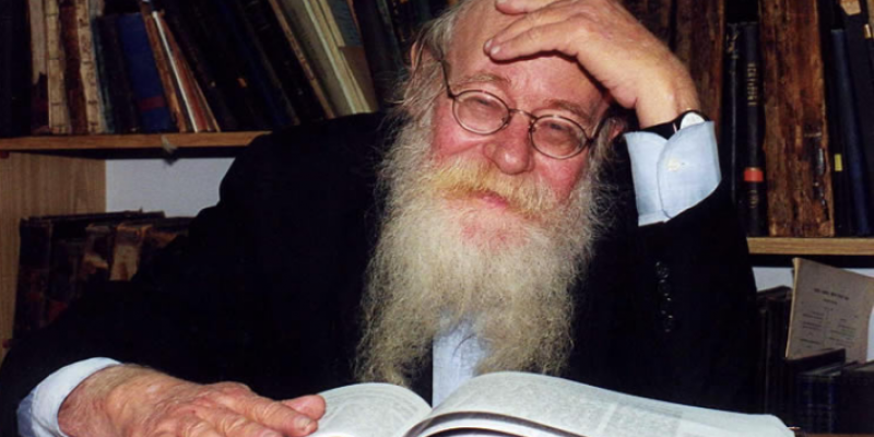 Falecimento do Rav Steinsaltz